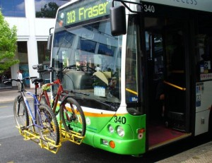 Action Bus Bike racks