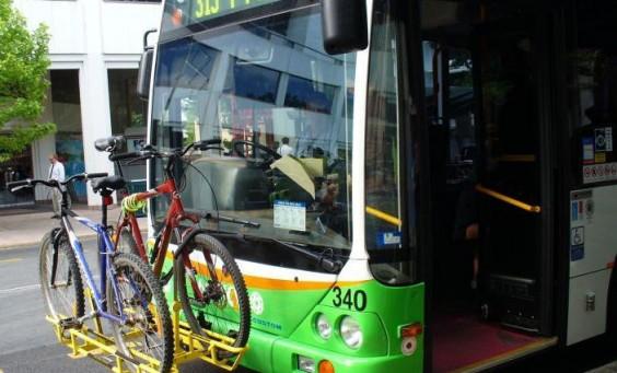 Action Bus Bike racks