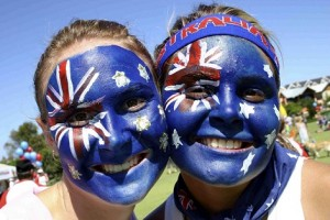 australia day faces