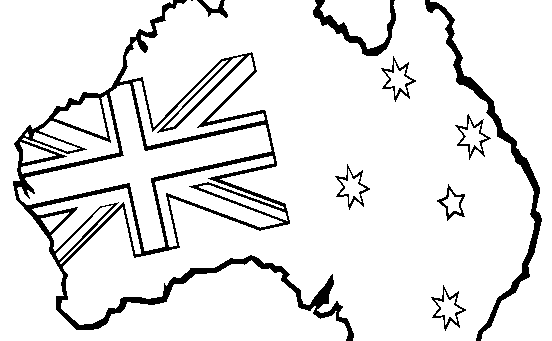 australia-coloring-page