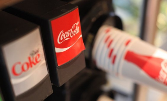 [FILE] A 16oz cup is filled with a Coca Cola (Coke) fountain drink.