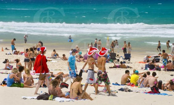_DSC9080 Christmas on the Gold Coast Beach QLD