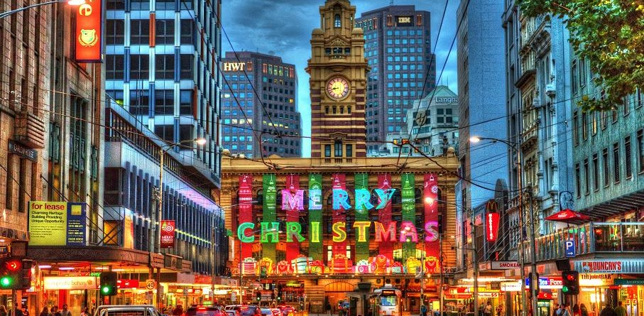 Merry Christmas From Melbourne, Australia