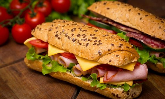 fat-food-sandwiches-french-bread-ham-salmon-lettuce-cheese-tomatoes