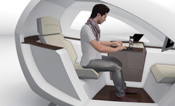 空港での待ち時間におさらば!近未来な理想空間が開発中!