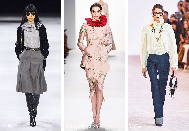 fall_winter_2019_2020_fashion_trends_Elizabethan_ruffled_collars