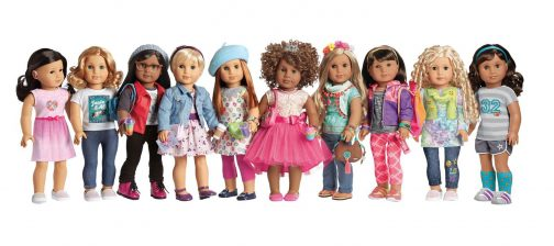 American Girl introduces new Create Your Own online experience allowing girls to customize and design their very own Truly Me doll. (PRNewsfoto/American Girl)