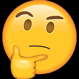 thinkingemoji