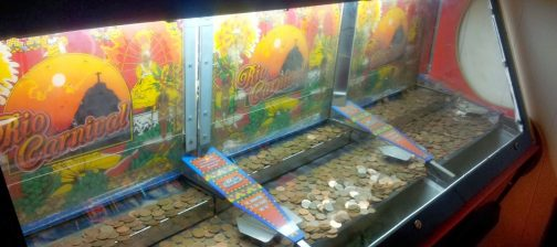 coin pusher game